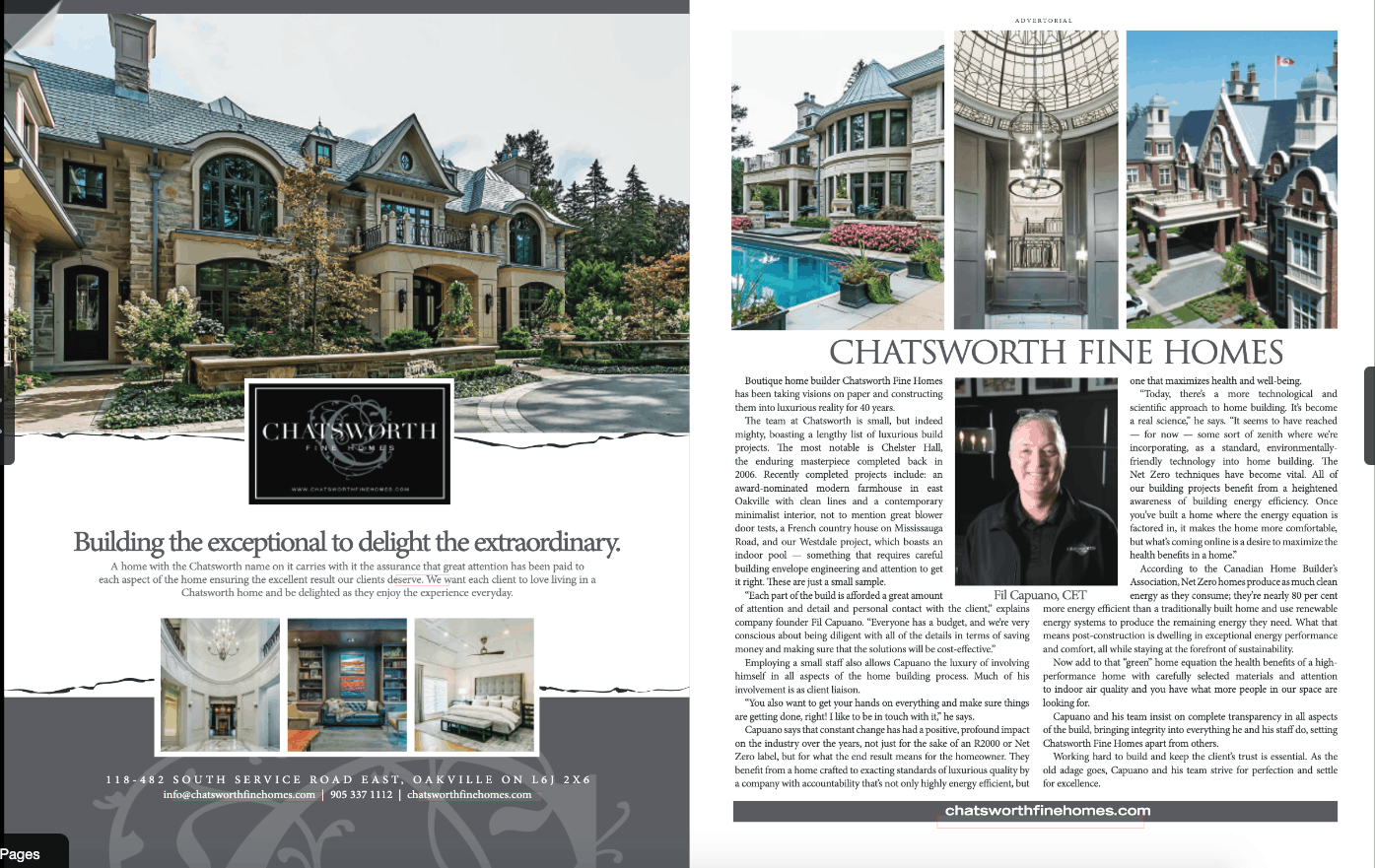 West of the City Magazine Net Zero Article Chatsworth