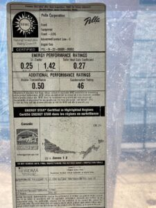 check Window labelling for a Net Zero home is crucial